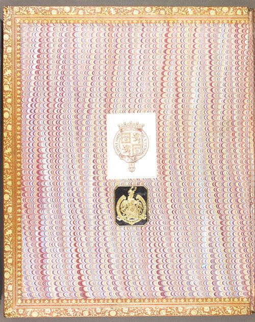 Image for page: Front_(left)_pastedown of manuscript: lady_susan