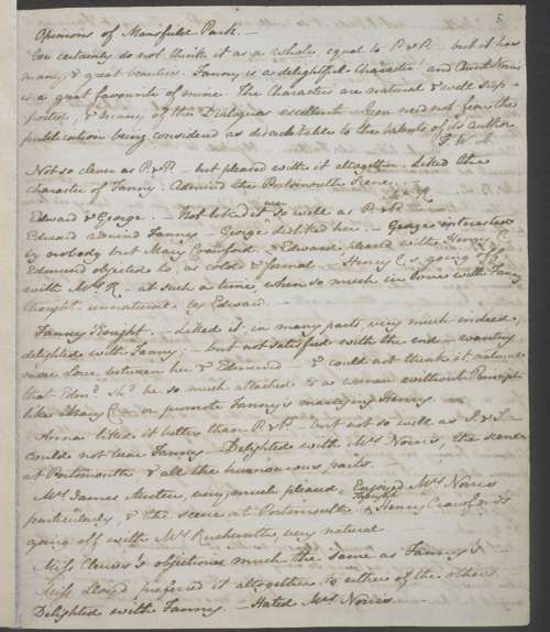 Image for page: 1 of manuscript: blopinions