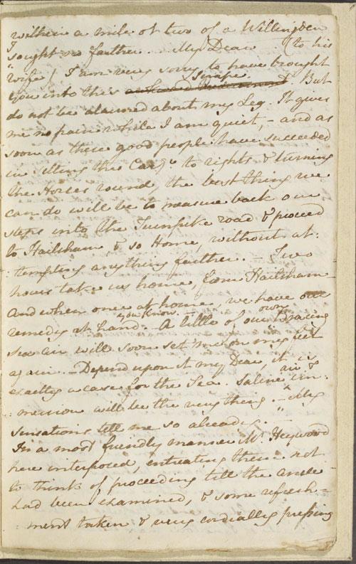 Image for page: b1-9 of manuscript: sanditon