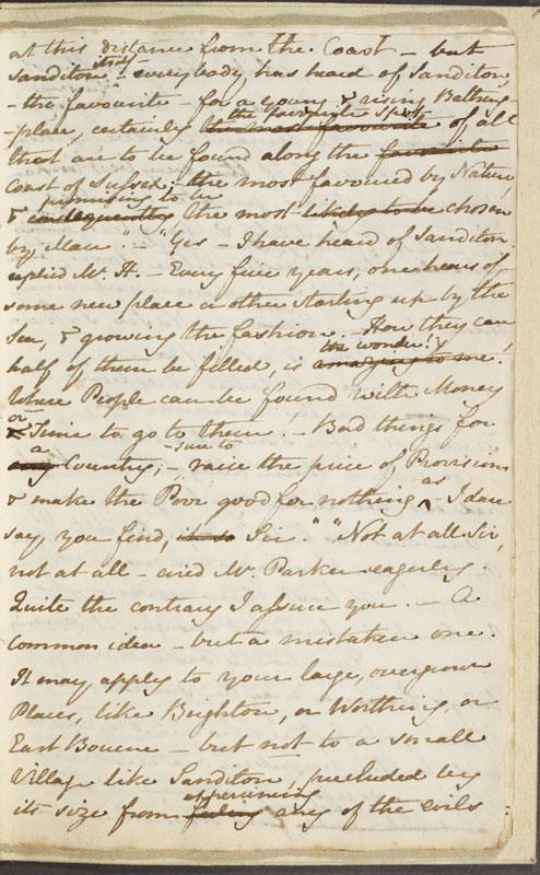 Image for page: b1-11 of manuscript: sanditon