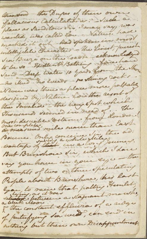 Image for page: b1-13 of manuscript: sanditon
