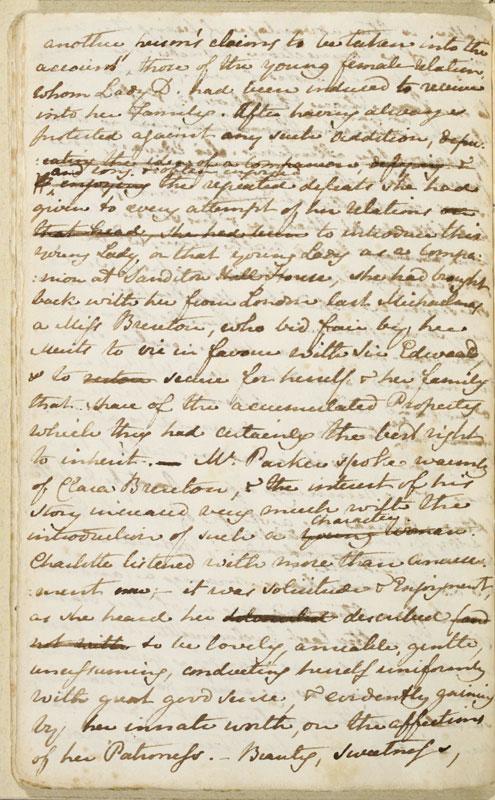 Image for page: b1-30 of manuscript: sanditon