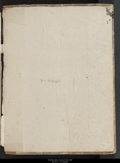 Image for page: Back_(right)_pastedown of manuscript: blvolfirst