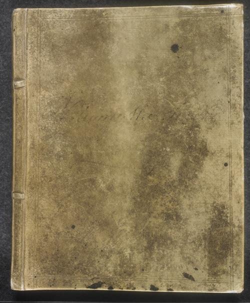 Image for page: Front_(left)_board of manuscript: blvolsecond