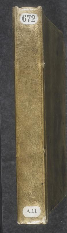 Image for page: Spine of manuscript: blvolsecond