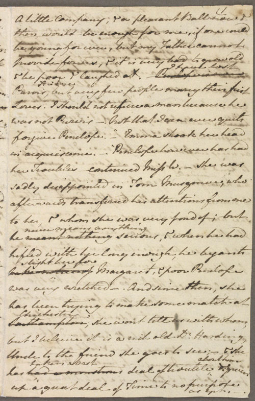 Image for page: b1-1 of manuscript: pmwats